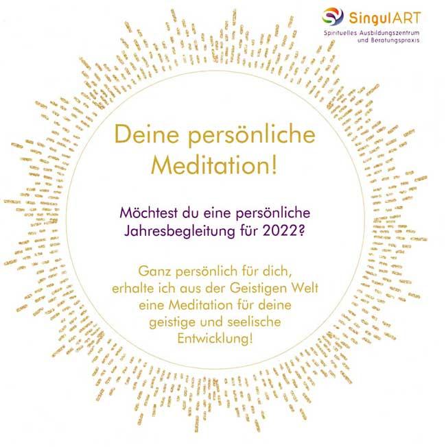 Persönliche Meditation